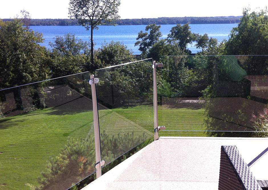 Invisirail 38 5 X 62 342 Glass Railing Panel 10mm D