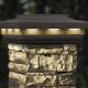 Woodland Gray Solar Postcover Cap Light