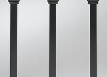 """Estate Baluster - 26"""" - 100 pack (black)"""