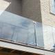 """Invisirail 38.5"""" x 55.865"""" Glass Railing Panel (10mm) - G"""