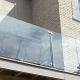 "Invisirail 38.5"" x 62.342"" Glass Railing Panel (10mm) -D"
