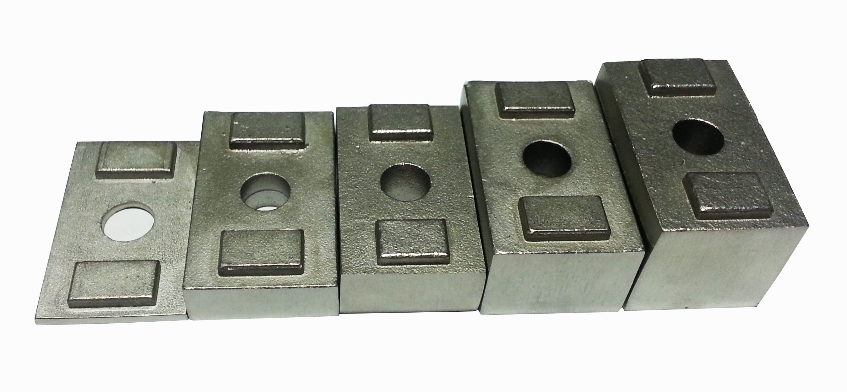 Invisirail 13mm spacer for glass clamps