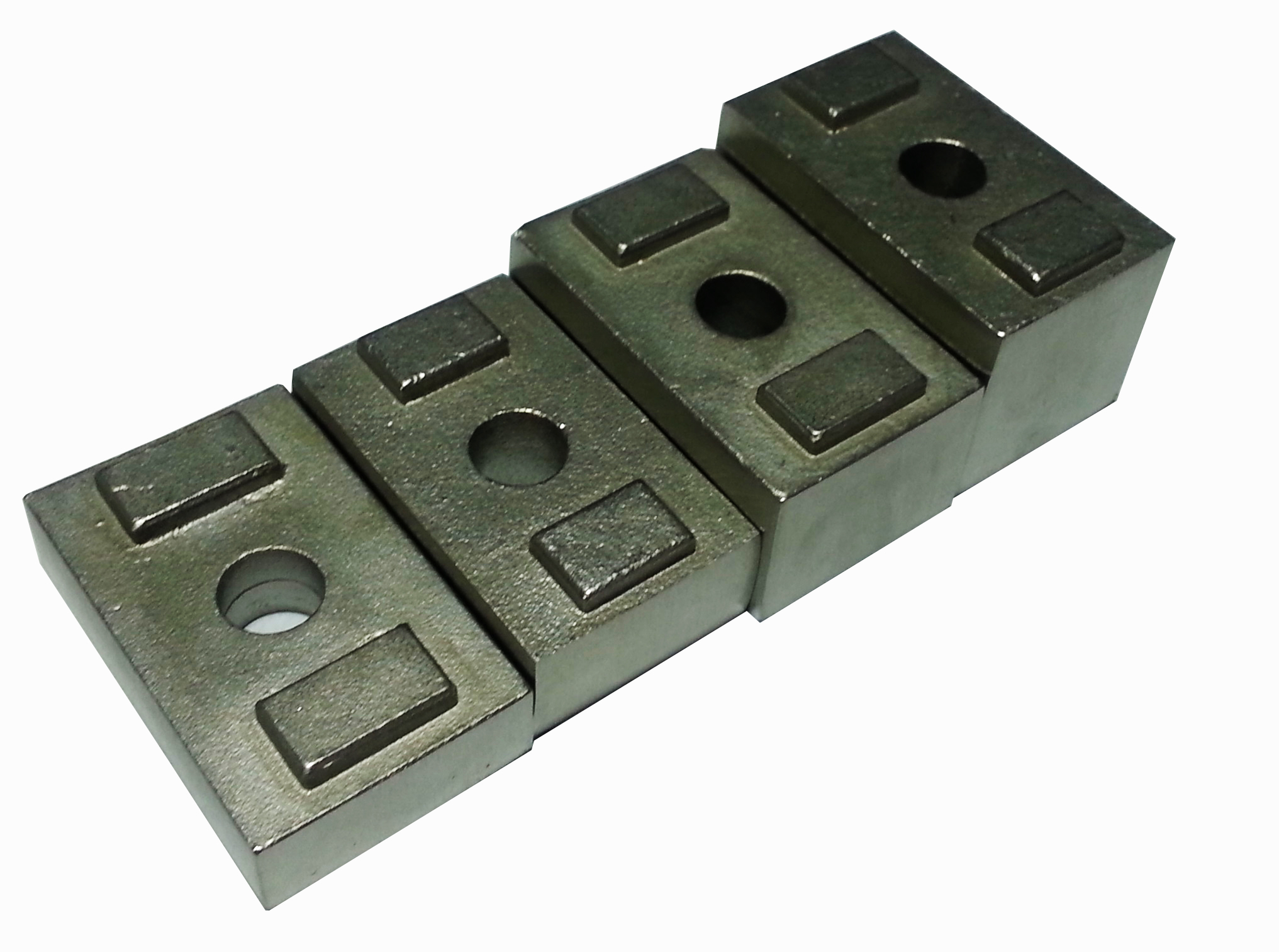 Invisirail 10mm spacer for glass clamps