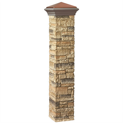 Beige Stacked Stone Postcover