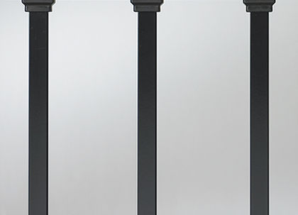 "Estate Baluster - 26"" - 100 pack (black)"