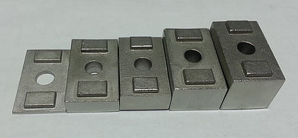 Invisirail 19mm spacer for glass clamps