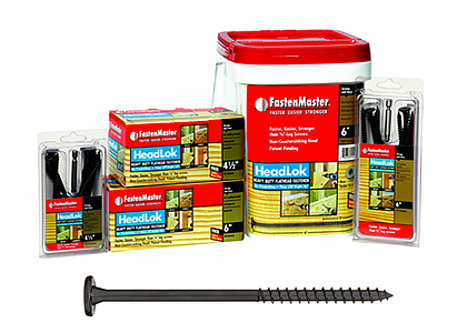 HeadLOK Heavy Duty Fasteners - 6""