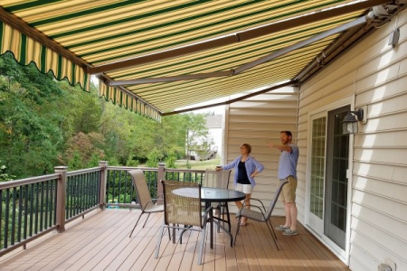 Shade Model 5 Motorized Awning (Economy)