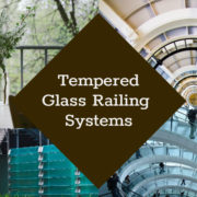 tempered glass railing systems