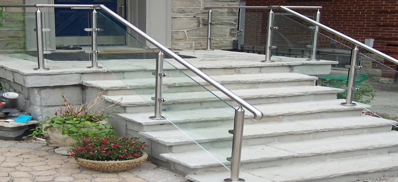 Captivating Glass Railing Stair Review