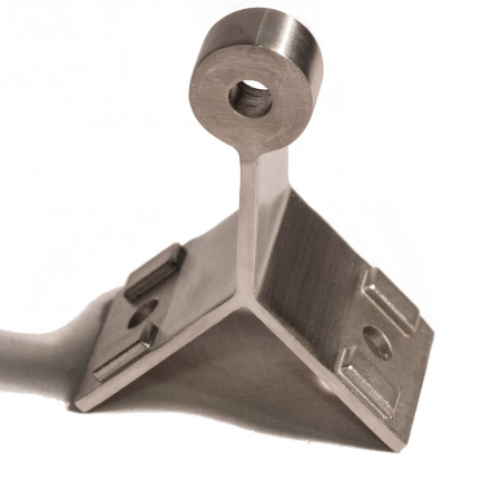 Corner Pivot Bracket for ALX Post and 1 5/8″ Handrail