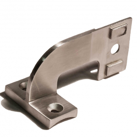 Inline Bracket for Invisipost and 1 5/8″ Handrail