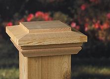 Wood Post Caps