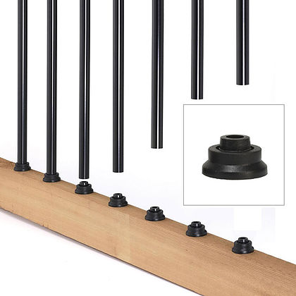 Designer Baluster connectors - 20 pack