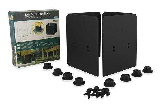 4 X 4 Faux Post Base Ironwood Deck Shoppe