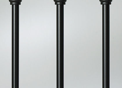 "Classic Baluster - 26"" - 100 pack (black)"
