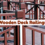 Wooden Deck Railings