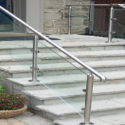 Glass Stair Rail