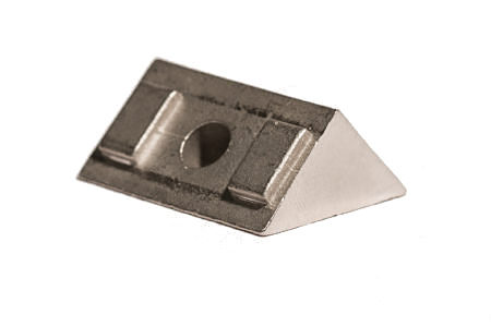 Invisirail 45 Degree Spacer for Glass Clamps